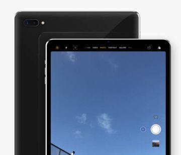 Новый концепт безрамочного iPad Pro с Face ID