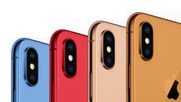 Новые iPhone будут разноцветными